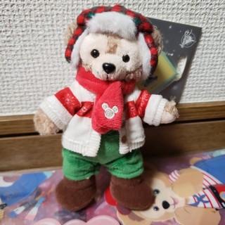 ディズニー(Disney)のクリスマスダッフィー キーチェン 上海ディズニー限定(キャラクターグッズ)
