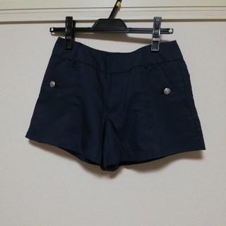 ジーユー(GU)のGUショートパンツSサイズ紺(ショートパンツ)