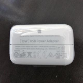アップル(Apple)のアップル純正USB電源アダプタ 10w(バッテリー/充電器)