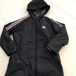 アディダス(adidas)のadidas アディダス キッズ コート 140 女の子(ジャケット/上着)