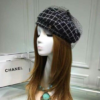 シャネル(CHANEL)のCHANEL 素敵なベレー帽 美品(ハンチング/ベレー帽)
