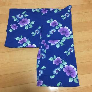 ブルー花柄 浴衣(浴衣)