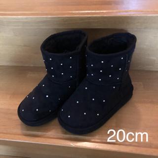 ジーユー(GU)の【GU】ムートンブーツ20cm(ブーツ)
