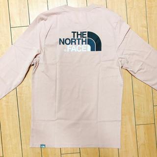 ザノースフェイス(THE NORTH FACE)のノースフェイス 長袖ロング丈Tシャツ アメリカンイーグル アングリッド バンズ(Tシャツ/カットソー(七分/長袖))