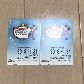 ディズニー(Disney)のディズニーリゾートライン 2day(鉄道乗車券)