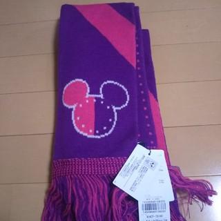 ディズニー(Disney)のタグ付き ミッキーマウスマフラー 定価4200円(マフラー/ショール)