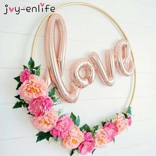 LOVE イニシャル バルーン 風船 結婚式(ウェルカムボード)