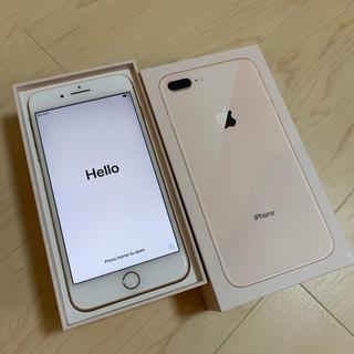 iPhone - 新品同様 iPhone8Plus 64GB SIMフリー ゴールド