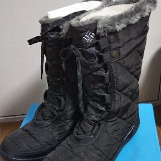コロンビア(Columbia)のコロンビアスノーブーツ黒(箱付き)Xmas価格(ブーツ)