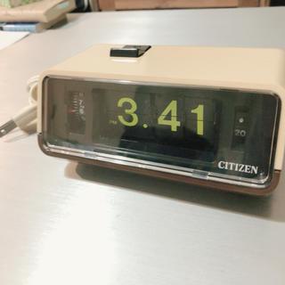 シチズン(CITIZEN)のCITIZEN パタパタ時計  デジタル時計(置時計)