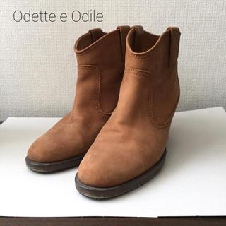 オデットエオディール(Odette e Odile)のオデットエオディールのショートブーツ(ブーツ)