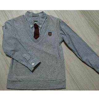 ベルメゾン(ベルメゾン)のベルメゾンpetitEditerベスト付きシャツ(ドレス/フォーマル)