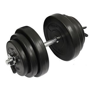 ★送料無料★セメントダンベル 20kg 1つ ホームトレ用(トレーニング用品)