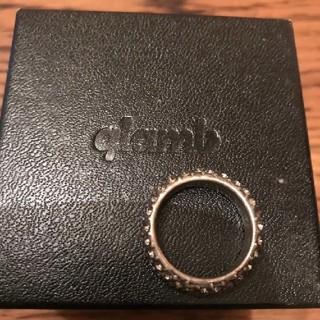 グラム(glamb)のglamb クリアストーンリング【箱付き】指輪(リング(指輪))