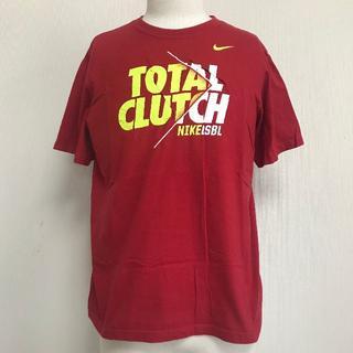 ナイキ(NIKE)のNIKE Tシャツ 赤 メンズM 半袖 [003](Tシャツ(半袖/袖なし))