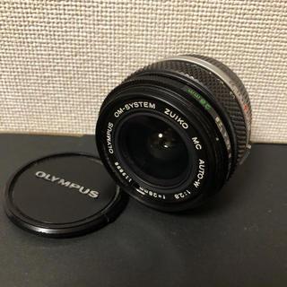 OLYMPUS - オリンパス 28mm f2.8 OM ZUIKO MC AUTO-W 単焦点