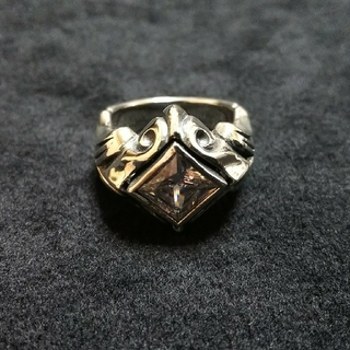 エムズコレクション(M's collection)のエムズコレクション WHジルコニア リング XR-001 CZ 13号 中古美品(リング(指輪))