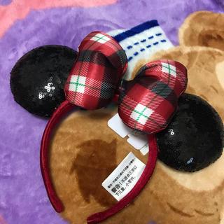 ディズニー(Disney)の新品ミニーちゃん カチューシャ(カチューシャ)