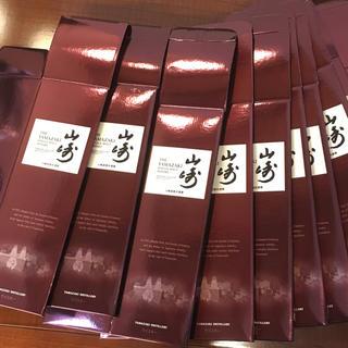 サントリー(サントリー)のサントリー  山崎 NV 化粧箱  20枚 送料無料(ウイスキー)