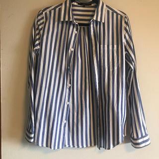 ザラ(ZARA)のYEVS ストライプシャツ(シャツ)