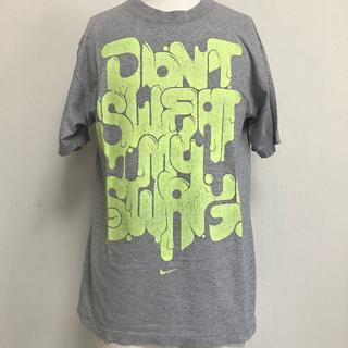 ナイキ(NIKE)の売切!NIKE Tシャツ グレー メンズM 半袖 [007](Tシャツ/カットソー(半袖/袖なし))