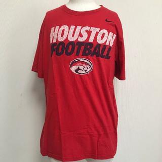 ナイキ(NIKE)の売切!NIKE Tシャツ 赤 メンズL 半袖 [009](Tシャツ/カットソー(半袖/袖なし))