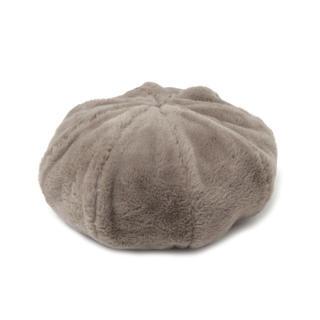 ニコアンド(niko and...)のニコアンド エコファーベレー(ハンチング/ベレー帽)