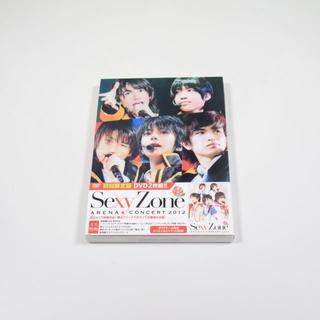 セクシー ゾーン(Sexy Zone)のSexy Zone◆ARENA CONCERT 2012◆初回限定盤◆DVD(ミュージック)