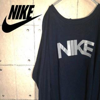 ナイキ(NIKE)のNIKE ナイキ ロンT ビッグロゴ デカロゴ 長袖(Tシャツ/カットソー(七分/長袖))
