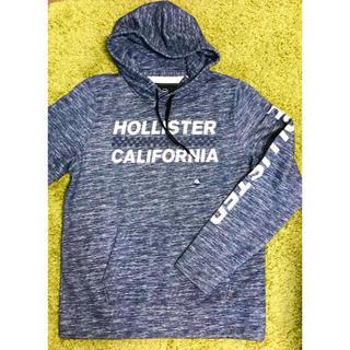 ホリスター(Hollister)のHOLLISTER/パーカー ネイビー *新品* *値引中*(パーカー)