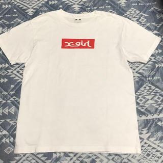 X-girl - ボックスロゴ Tシャツ