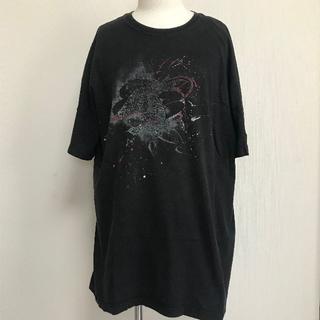ナイキ(NIKE)のNIKE エアジョーダン Tシャツ 黒 メンズXL ビッグサイズ 半袖 [017(Tシャツ/カットソー(半袖/袖なし))
