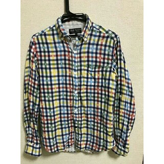 ビームス(BEAMS)の【お値下げ(^^)】BEAMS  ドクロ柄入りチェックシャツ(シャツ)
