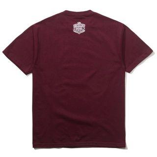 MC The Hundreds Hunny Burgundy Tee Tシャツ(Tシャツ/カットソー(半袖/袖なし))
