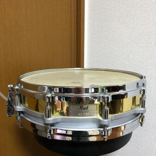 pearl free floating brass shell 14×3 スネア