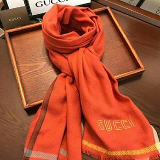 グッチ(Gucci)のgucci ゴッチ マフラー 大判 (マフラー/ショール)