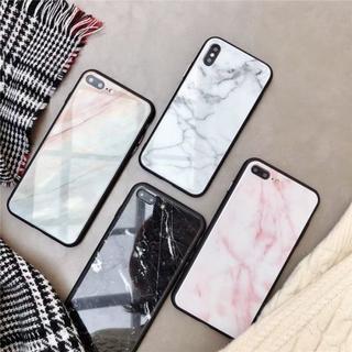 iPhoneケース ミラー 黒ふち大理石 ユニセックス 送料無料 iPhone6(iPhoneケース)