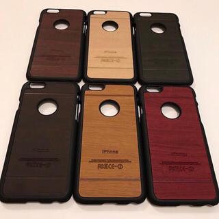 スマホケース iPhone6,6s用 ウッド&TPU素材 (iPhoneケース)