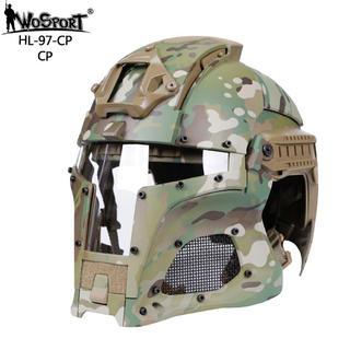 即納!送料無料!WoSporT サバゲ用 ヘルメット マルチカム(戦闘服)
