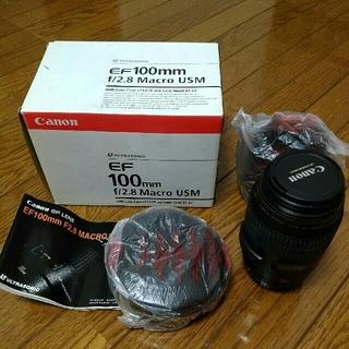 Canon - Canon EF100mm f2.8 Macro USM マクロレンズ
