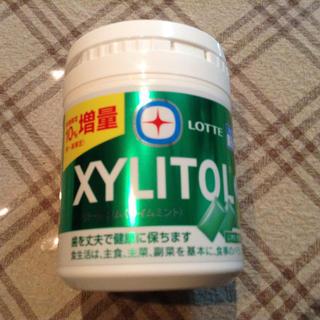 ロッテ  キシリトールガム〈ライムミント〉(菓子/デザート)