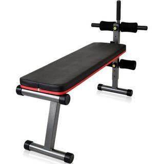 ◆大特価◆【耐荷重300kg】フラットベンチ 折りたたみ可能♪(トレーニング用品)