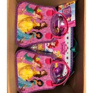 ディズニー(Disney)のディズニープリンセスキッズ用メイクアップセット27点入り 3点セット(キャラクターグッズ)
