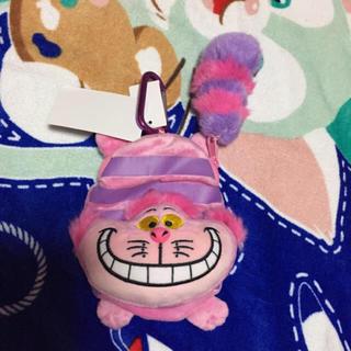 ディズニー(Disney)のディズニー チェシャ猫ポーチ(キャラクターグッズ)