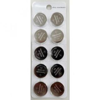Panasonic CR2032 10個セット リチウムコイン電池 (その他)