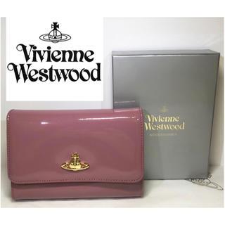 ヴィヴィアンウエストウッド(Vivienne Westwood)の大人気!【新品】Vivienne Westwood 三つ折り財布 ピンク 本物(財布)