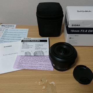 シグマ(SIGMA)のSIGMA 19mm F2.8 DN | Art マイクロフォーサーズ用(レンズ(単焦点))