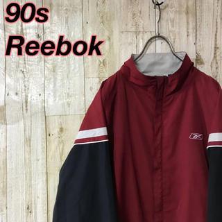 リーボック(Reebok)のReebok 90s リーボック  ナイロンジャケット  マルチカラー切り替え(ナイロンジャケット)