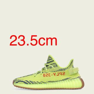 アディダス(adidas)のyeezy boost 350 V2 セミフローズンイエロー 23.5(スニーカー)