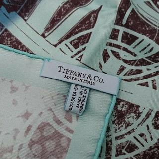 ティファニー(Tiffany & Co.)のスカーフ 大判 ティファニー(バンダナ/スカーフ)
